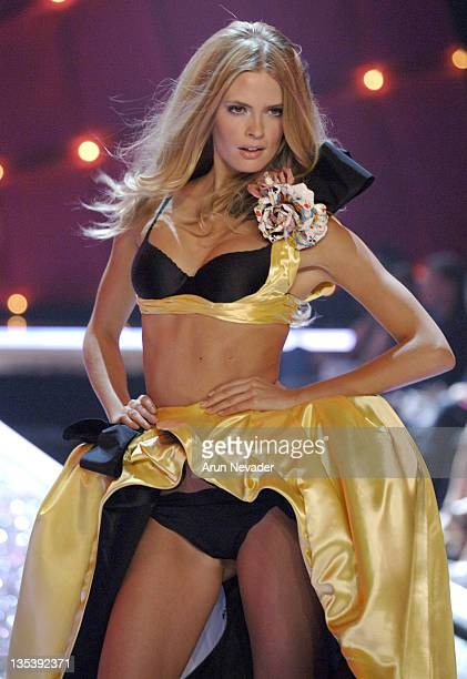 Julia Stegner during 11th Victoria's Secret Fashion Show Runway at Kodak Theatre in Hollywood California United States