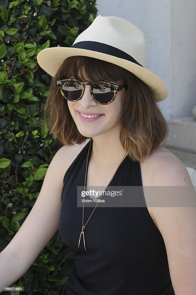 Julia Stephens attends Debbie Durkin's 3rd Annual Rockn Rolla Movie Awards Eco Party at Pickford Mansion on April 11, 2013 in Los Angeles, California.