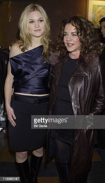 Julia Stiles and Stockard Channing attending the Premiere of 'The Business of Strangers'