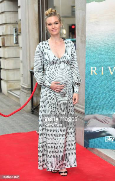 Julia Stiles attends the Riviera launch event at The Halcyon Gallery on June 13 2017 in London England
