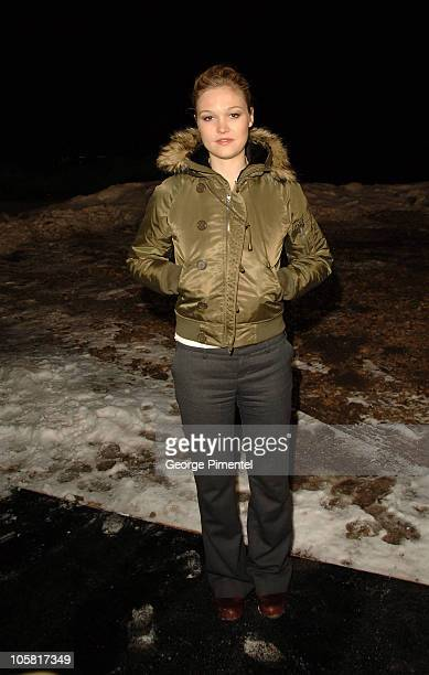 Julia Stiles during 2006 Sundance Film Festival 'A Little Trip to Heaven' Premiere at Eccles in Park City Utah United States
