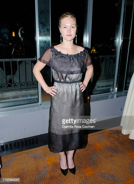 Julia Stiles during Lincoln Center Institute for the Arts in Education Annual Benefit February 27 2007 at The Rainbow Room in New York City New York...