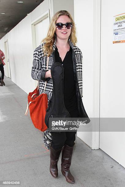Julia Stiles seen at LAX on March 11 2015 in Los Angeles California