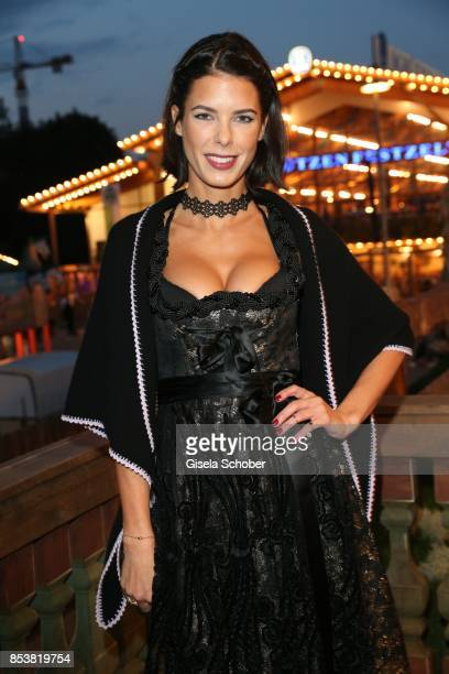 Julia Trainer during the Oktoberfest at Kaeferzelt at Theresienwiese on September 25 2017 in Munich Germany