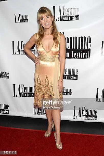 Julia Verdin arrives at the 9th annual La Femme International Film Festival hosting a red carpet for '2 Jacks' at Regal Cinemas LA Live on October 18...