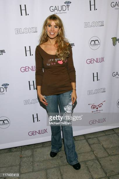 Julia Verdin during Genlux Magazine Presents Gaudy PR's 3rd Anniversary and The Launch of Bloke at H Lorenzo at 8660 Sunset Blvd in Los Angeles...