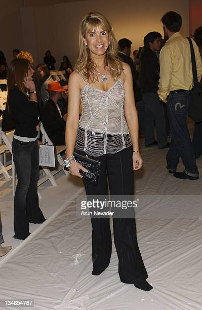 Julia Verdin during MercedesBenz Fall 2005 LA Fashion Week at Smashbox Studios Shay Todd Backstage at Smashbox Studios in Culver City California...