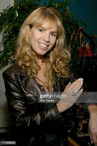 Julia Verdin with Verrago opal ring during Silver Spoon Hollywood Buffet Day 1 at Private Residence in Beverly Hills CA United States Photo by Amy...