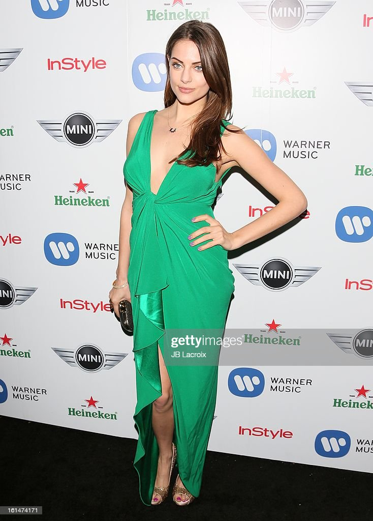 Julia Voth attends the Warner Music Group 2013 Grammy Celebration Presented By Mini held at Chateau Marmont on February 10, 2013 in Los Angeles, California.