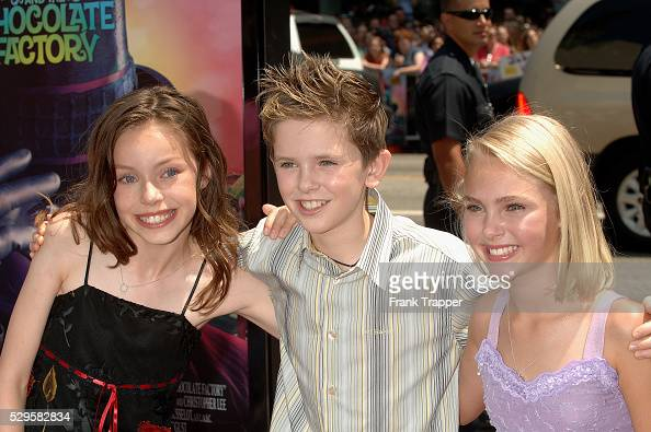 'Charlie and the Chocolate Factory' World Premiere in Los ... Julia Winter And Annasophia Robb