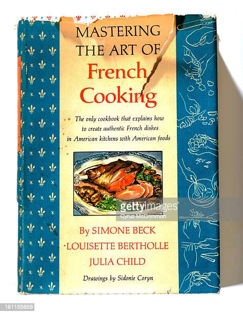 JuliaChildCookbook_CM An old original Julia Child cookbook 'Mastering the Art of French Cooking' on Wednesday July 29 2009 Cyrus McCrimmon The Denver...