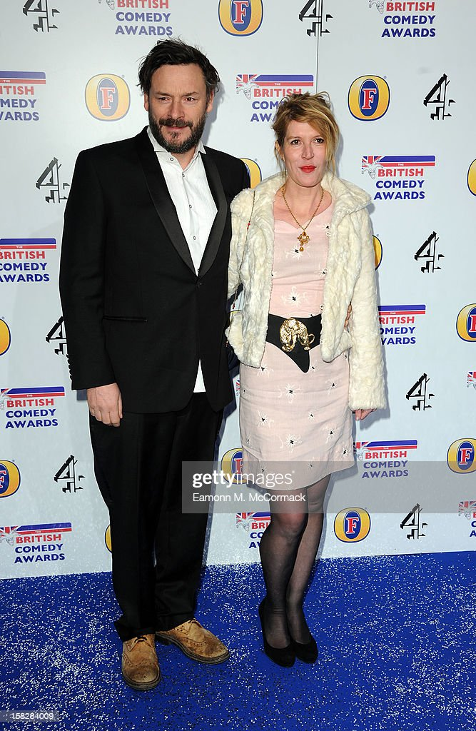 Julian Barratt and Julia Davies attend the British Comedy Awards at Fountain Studios on December 12, 2012 in London, England.