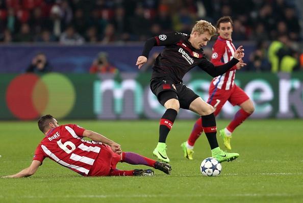Bayer 04 Leverkusen vs Atletico Madrid : UEFA Champions League : News Photo
