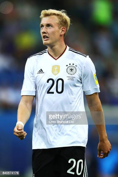 Julian Brandt of Germany looks on during the FIFA Confederations Cup Russia 2017 SemiFinal match between Germany and Mexico at Fisht Olympic Stadium...