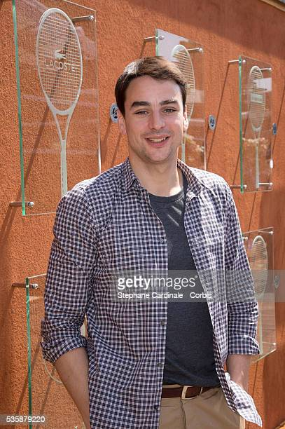 Julian Bugier attends Roland Garros Tennis French Open 2013