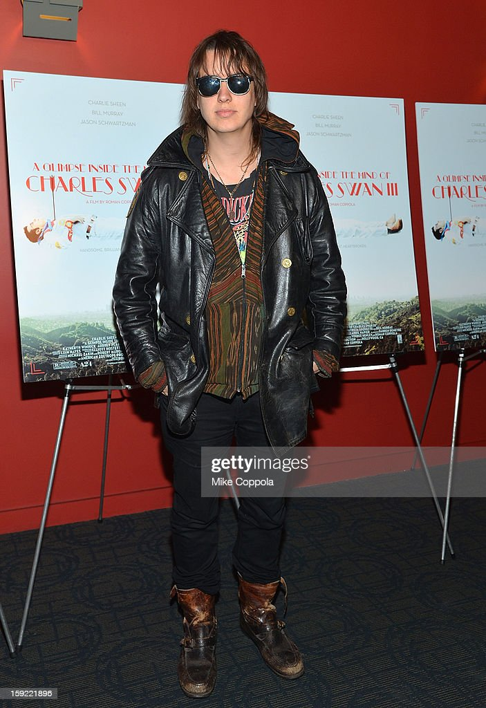 Julian Casablancas attends a screening of 'A Glimpse Inside The Mind Of Charles Swan III' at Landmark Sunshine Cinema on January 9, 2013 in New York City.