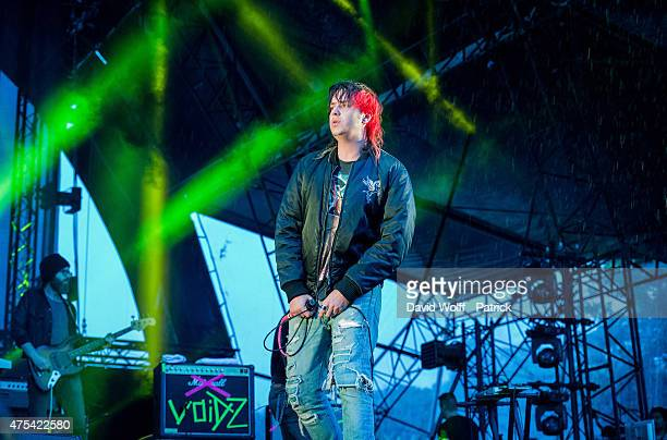 Julian Casablancas perfroms with Julian Casablancas and the Voidz at We Love Green Festival on May 31 2015 in Paris France