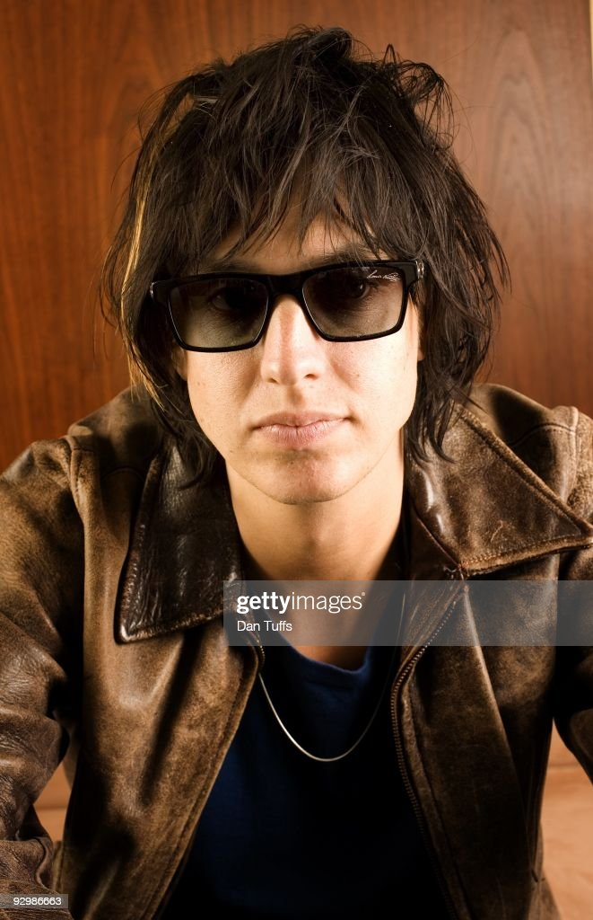 Julian Casblancas poses for a portrait in Los Angeles, California on October 1, 2009.