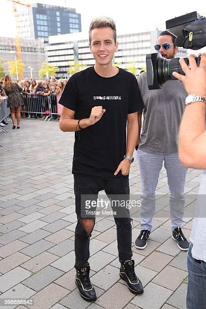Julian Classen attends the 'Glossycon' on September 3 2016 in Berlin Germany