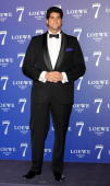 Julian Contreras arrives to the launch party of the new Loewe's fragrance '7' at the Palacio de Cibeles on October 7 2010 in Madrid Spain