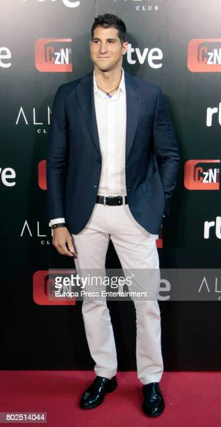 Julian Contreras attends 'Corazon' TV Programme 20th Anniversary at Alma club on June 27 2017 in Madrid Spain