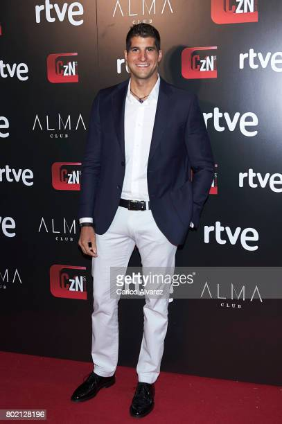 Julian Contreras attends 'Corazon' TV programme 20th Anniversary at the Alma club on June 27 2017 in Madrid Spain
