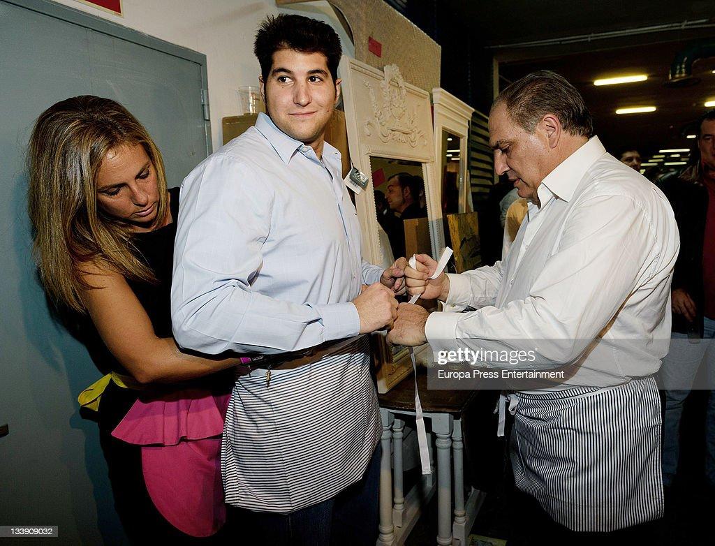 Julian Contreras attends 'Rastrillo Nuevo Futuro' at La Pipa in Casa de Campo on November 21 2011 in Madrid Spain