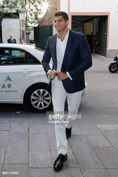 Julian Contreras attends the 'Corazon 20th anniversary' party at Alma club on June 27 2017 in Madrid Spain