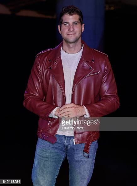 Julian Contreras attends the Francis Montesinos show during Mercedes Benz Fashion Week Madrid Autumn / Winter 2017 at Ifema on February 17 2017 in...