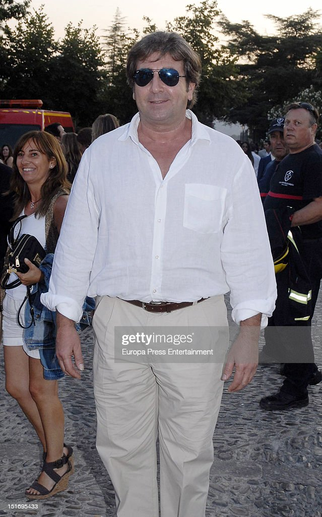 Julian Contreras attends the 'Goyesca' Bullfights on September 8 2012 in Ronda Spain The bullfight events linked to The Feria Goyesca stem from the...