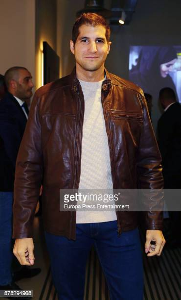 Julian Contreras attends the 'Influencers' magazine launching photocall on November 22 2017 in Madrid Spain
