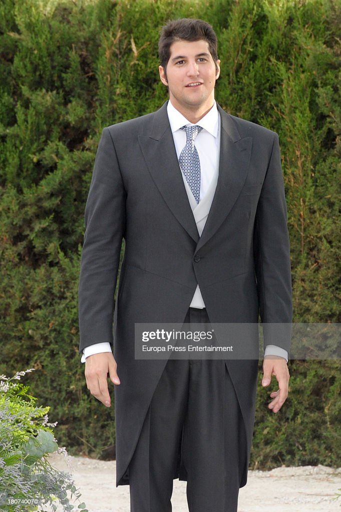 Julian Contreras attends the wedding of Spanish bullfighter Francisco Rivera and Lourdes Montes on September 14 2013 in Ronda Spain