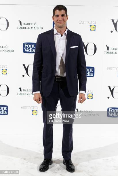 Julian Contreras attends the 'Yo Dona MBFW opening party' photocall at Barcelo hotel on September 13 2017 in Madrid Spain