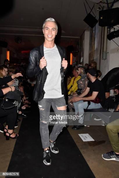 Julian David attends the Matthias Maus Fashion Show Autumn/Winter 2017 at Kaufhaus Jandorf on July 5 2017 in Berlin Germany