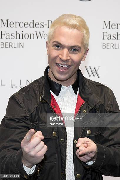Julian David attends the Riani show during the MercedesBenz Fashion Week Berlin A/W 2017 at Kaufhaus Jandorf in Berlin Germany on January 17 2017