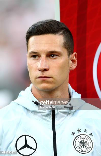 Julian Draxler of Germany looks on before the FIFA 2018 World Cup Qualifier between Germany and San Marino at on June 10 2017 in Nuremberg Bavaria