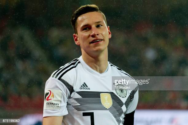 Julian Draxler of Germany looks on during the International friendly match between Germany and France at RheinEnergieStadion on November 14 2017 in...