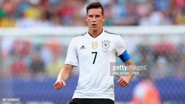 Julian Draxler of Germany reacts during the FIFA Confederations Cup Russia 2017 Group B match between Germany and Cameroon at Fisht Olympic Stadium...