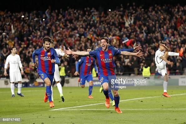 UEFA Champions League'FC Barcelona v Paris Saint Germain' : News Photo