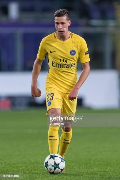 Julian Draxler of Paris SaintGermain during the UEFA Champions League group B match between RSC Anderlecht and Paris Saint Germain on October 18 2017...