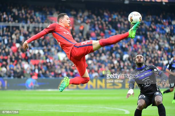 Julian Draxler of PSG during the Ligue 1 match between Paris Saint Germain and SC Bastia at Parc des Princes on May 6 2017 in Paris France