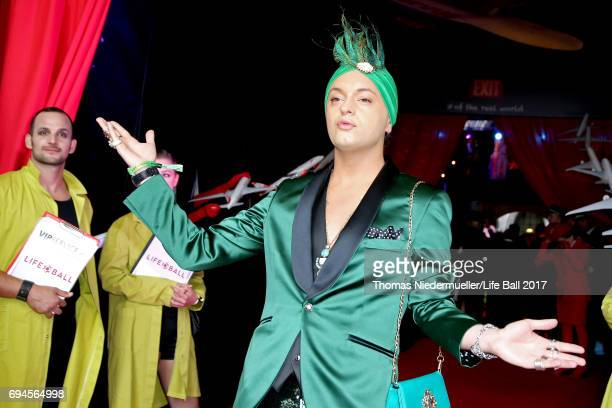 Julian F M Stoeckel attends the Life Ball 2017 Gala Dinner at City Hall on June 10 2017 in Vienna Austria