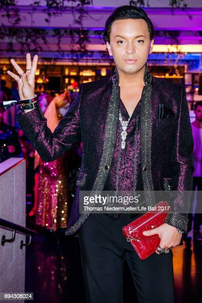Julian F M Stoeckel attends the Life Ball 2017 welcome cocktail at Le Meridien Hotel on June 9 2017 in Vienna Austria The Life Ball an annual charity...