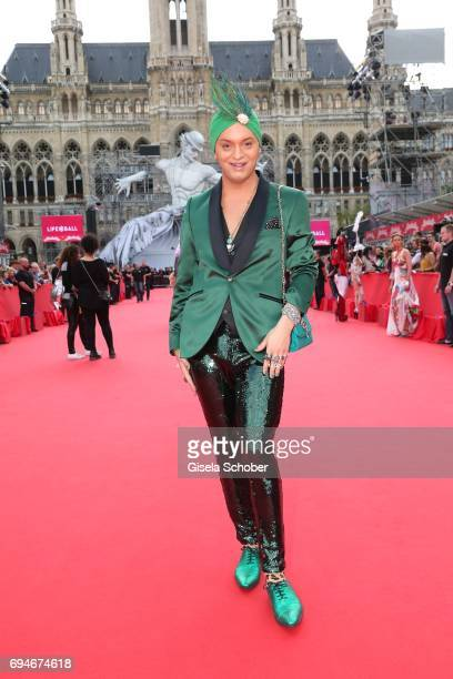 Julian F M Stoeckel during the Life Ball 2017 at City Hall on June 10 2017 in Vienna Austria
