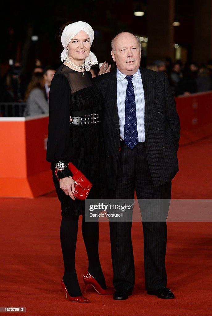 <a gi-track='captionPersonalityLinkClicked' href=/galleries/search?phrase=Julian+Fellowes&family=editorial&specificpeople=224703 ng-click='$event.stopPropagation()'>Julian Fellowes</a> and wife Emma Fellowes attend 'Romeo And Juliet' Premiere during The 8th Rome Film Festival on November 11, 2013 in Rome, Italy.