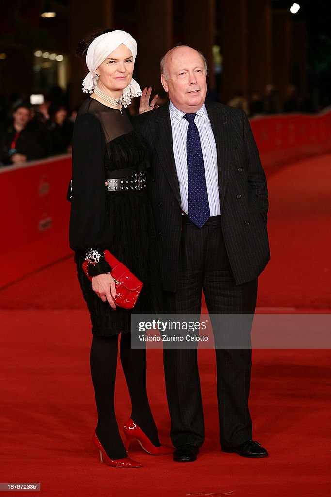 Julian Fellowes and wife Emma Fellowes attends 'Romeo And Juliet' Premiere during The 8th Rome Film Festival at Auditorium Parco Della Musica on November 11, 2013 in Rome, Italy.
