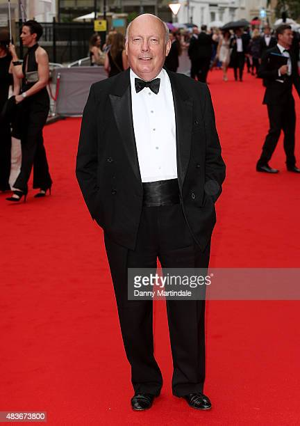 Julian Fellowes attends as BAFTA celebrate 'Downton Abbey' at Richmond Theatre on August 11 2015 in Richmond England