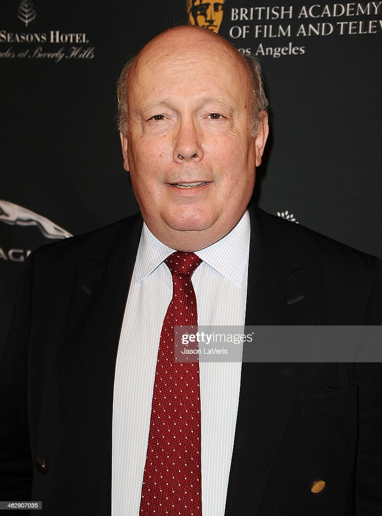 Julian Fellowes attends the BAFTA LA 2014 awards season tea party at Four Seasons Hotel Los Angeles at Beverly Hills on January 11, 2014 in Beverly Hills, California.