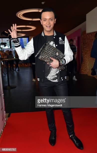 Julian FM Stoeckel during the Secret Fashion Show at Alte Kongresshalle on May 15 2017 in Munich Germany