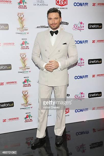 Julian Gil arrives at Premios TV y Novelas 2015 at Televisa San Angel on March 9 2015 in Mexico City Mexico